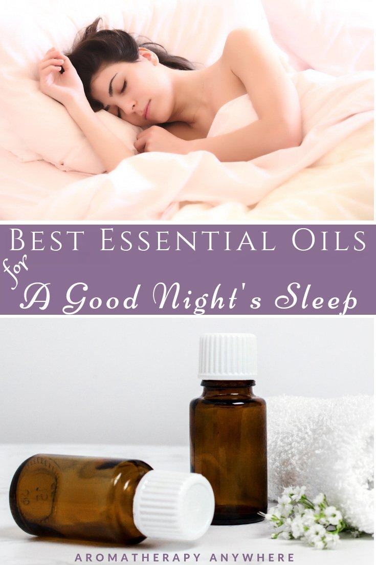 Best Essential Oils for a Good Night's Sleep