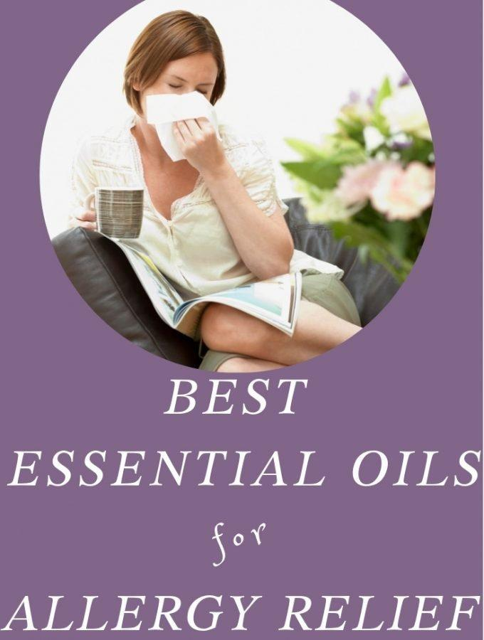 Best Essential Oils for Relief from Annoying Allergy Symptoms