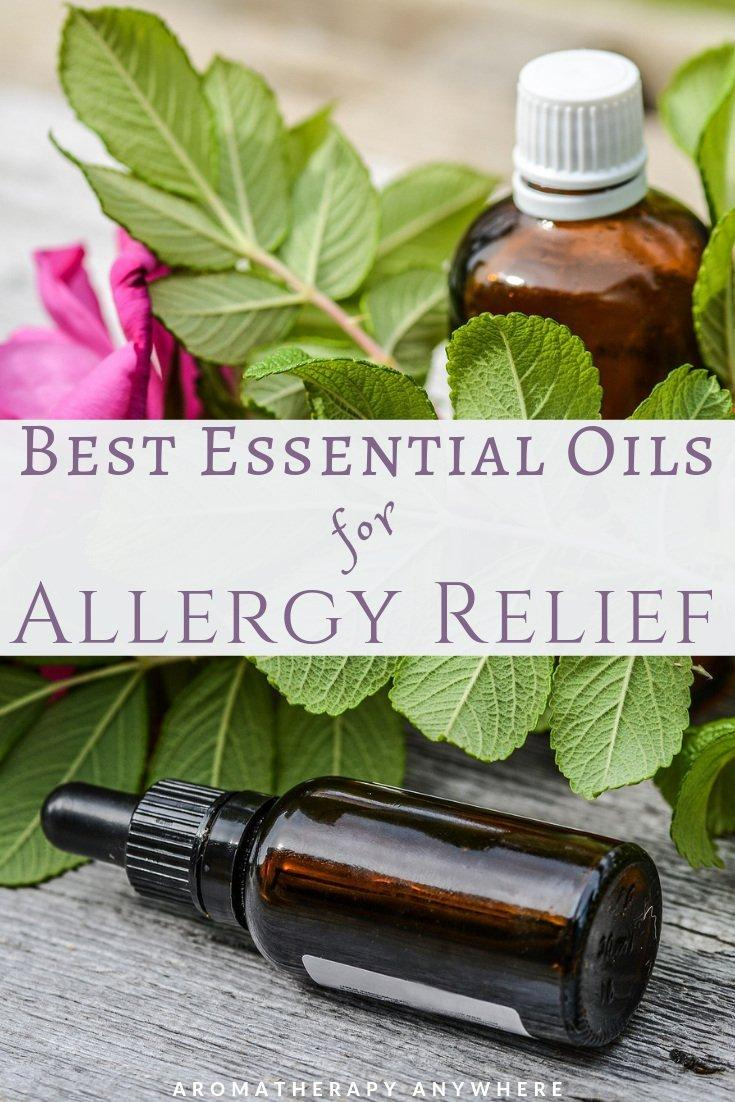 Best essential oils for relief from allergies