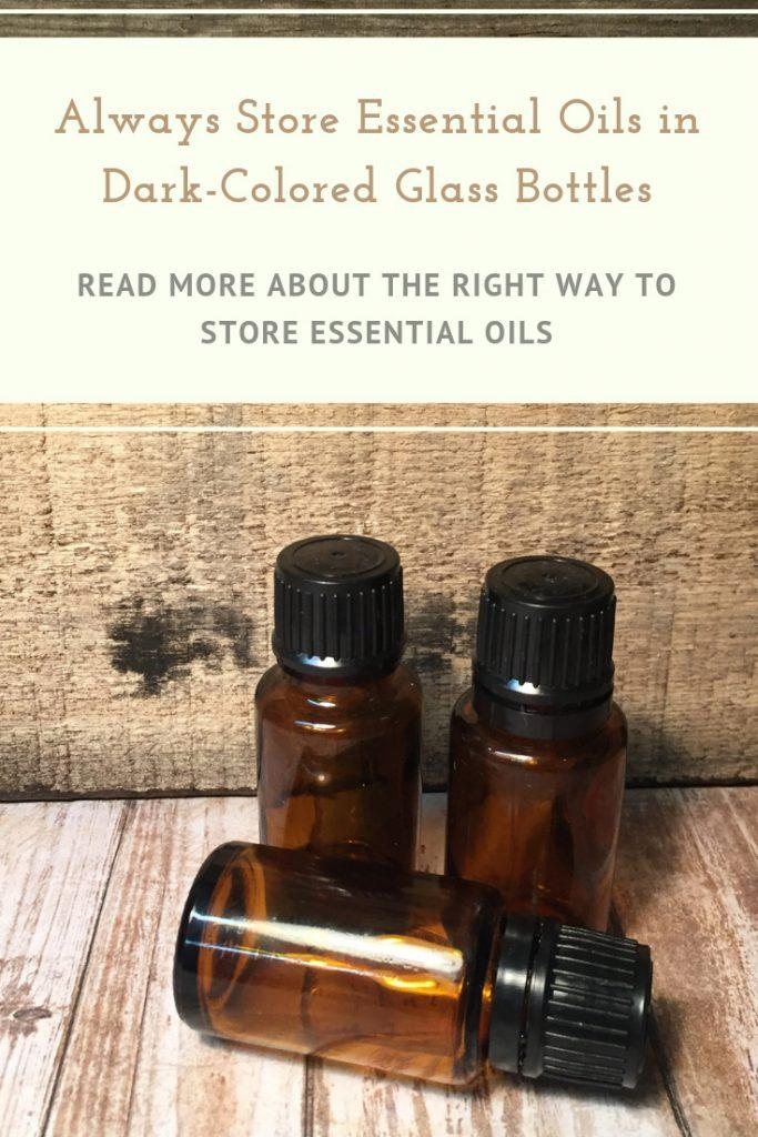 3 Essential oil bottles