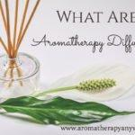 What Are Aromatherapy Diffusers