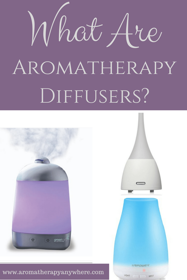 What are aromatherapy diffusers?