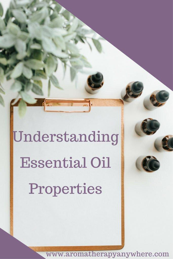 Understanding essential oil properties