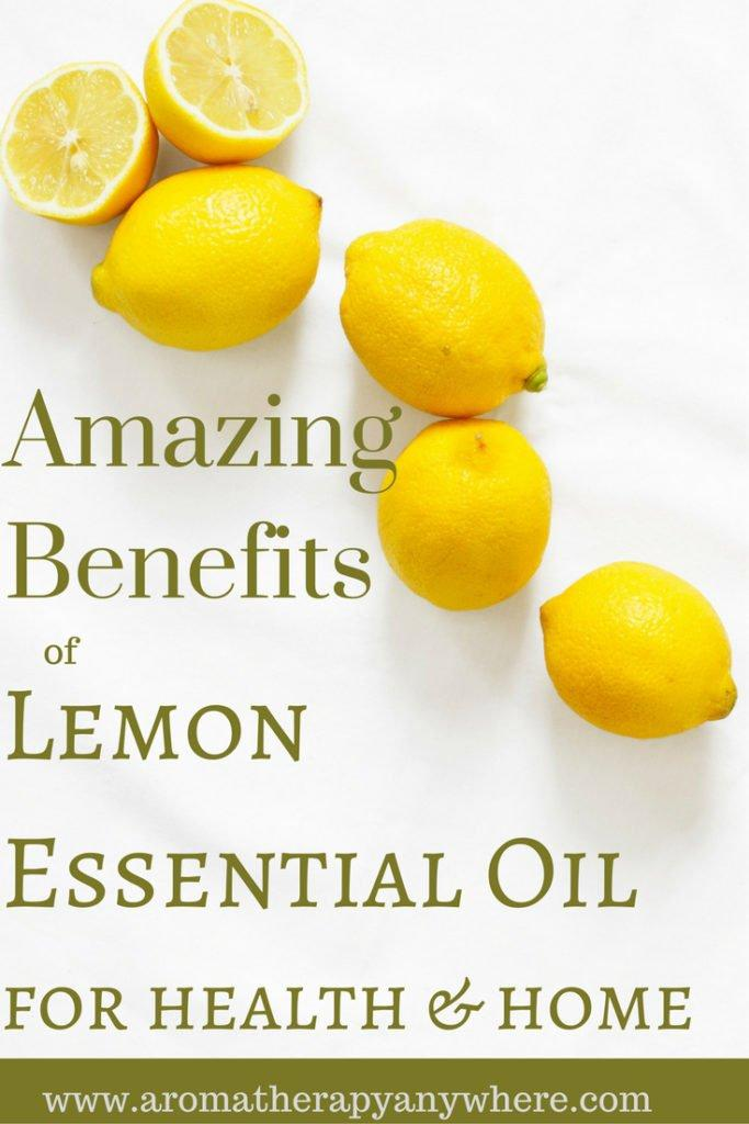Lemon essential oil benefits for health and home