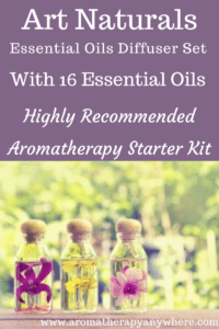 Art Naturals Essential Oil Diffuser Set with 16 Oils Review