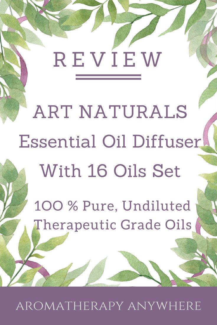 Art Naturals Essential Oil Diffuser With 16 Oils Set Review