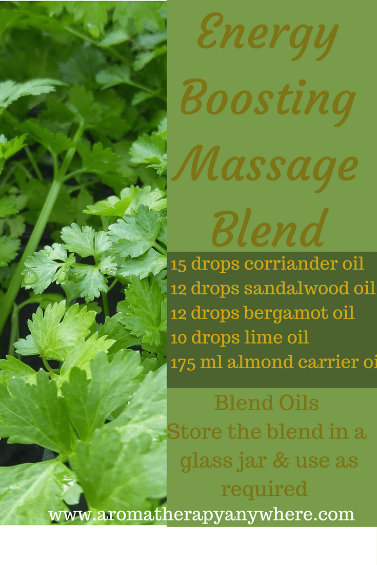 Energy Boosting Massage Blend