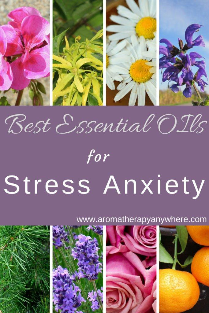 How to relieve stress anxiety naturally with Aromatherapy