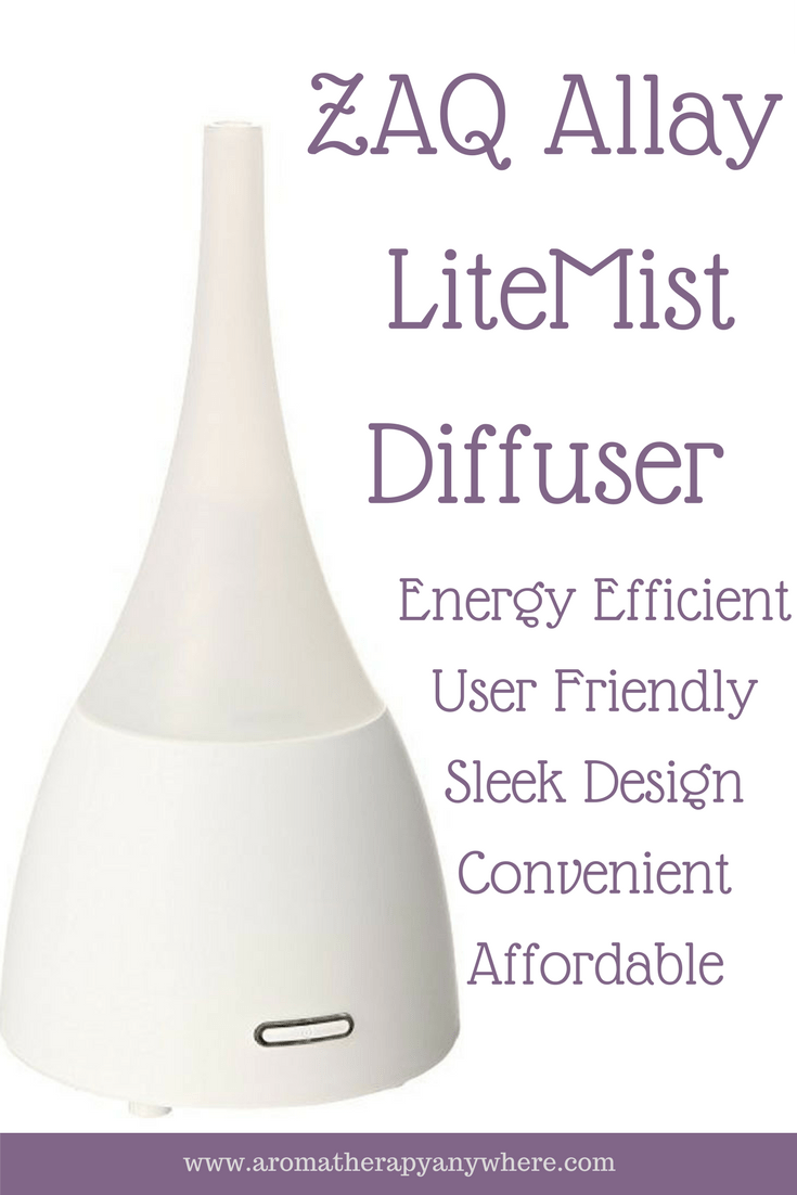 ZAQ Allay LiteMist Essential Oil Diffuser Review