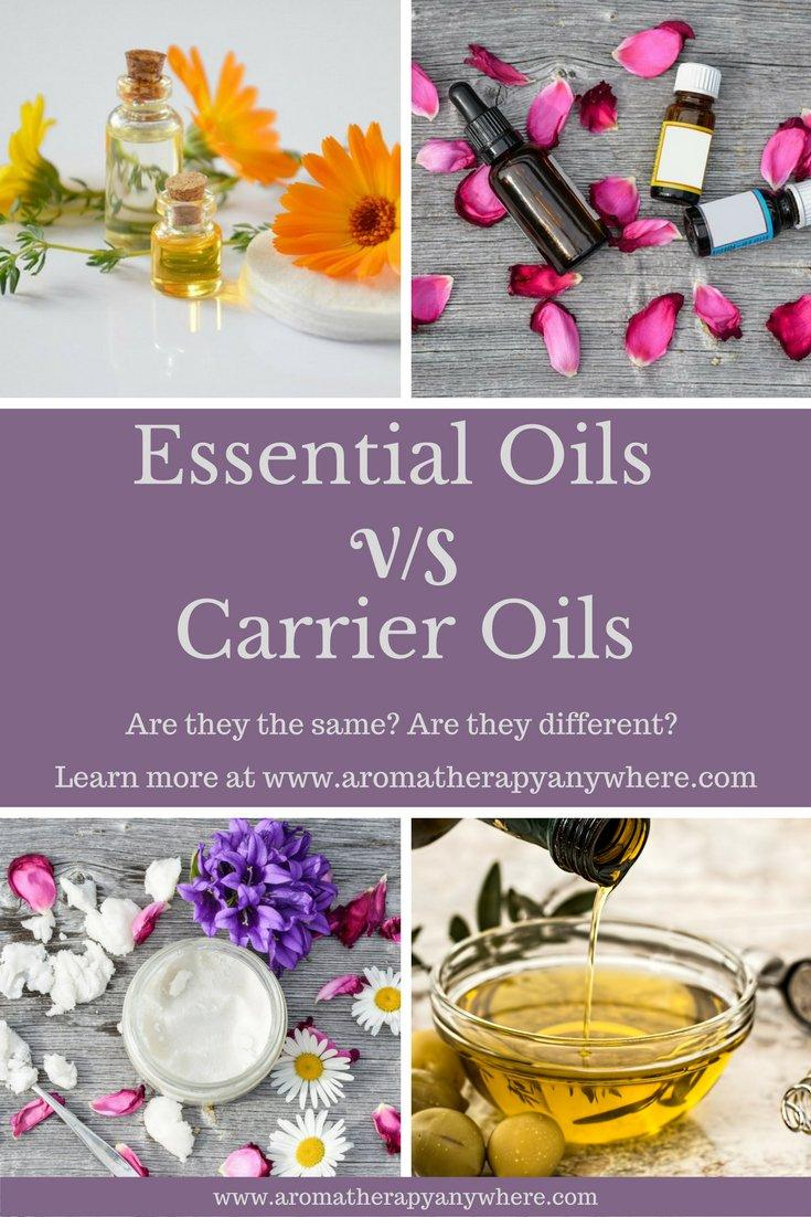 Carrier Oils VS Essential Oils