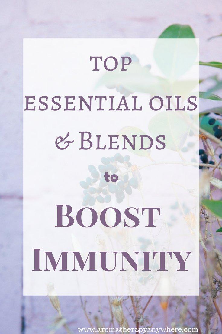 Top Immunity-Boosting Essential Oils & Blends