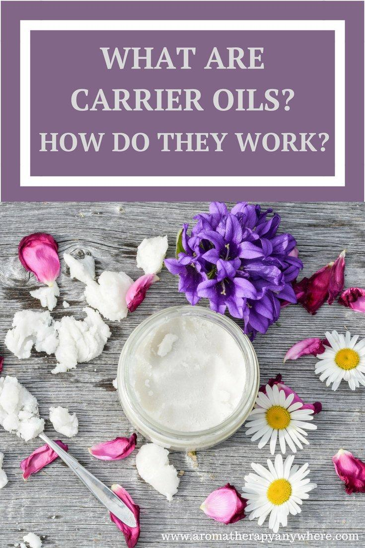 What are carrier oils for essential oils?