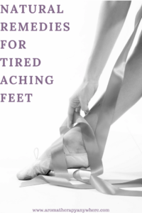 Natural Remedies for Tired Aching Feet