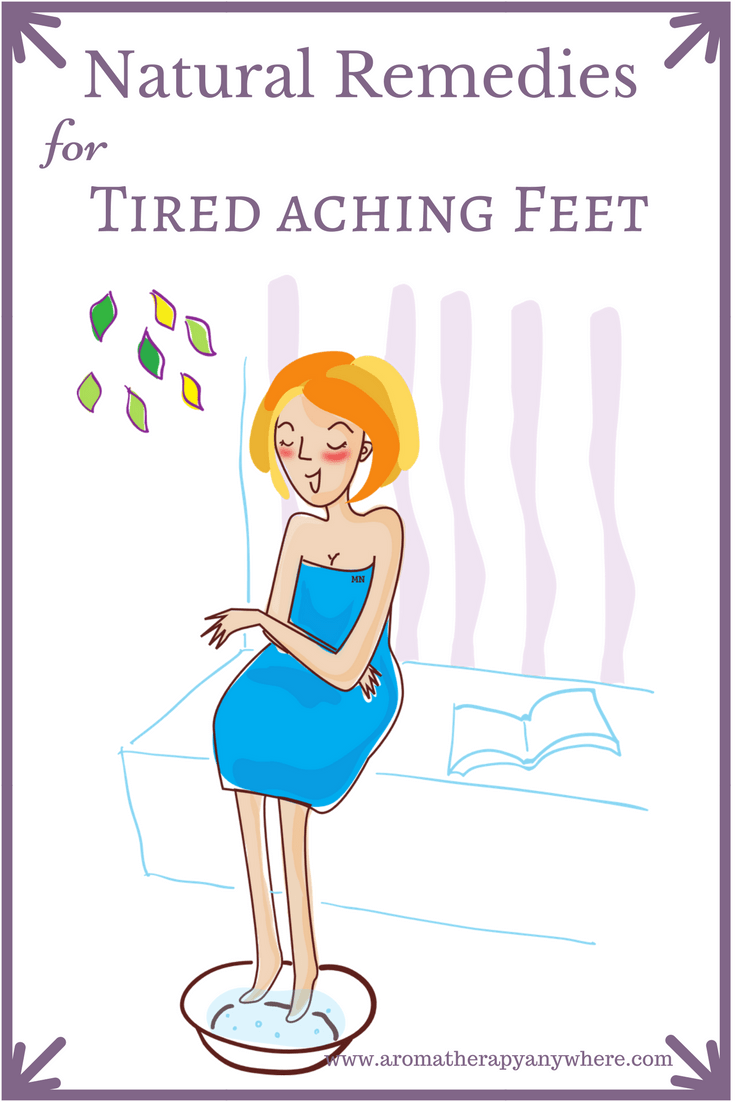 Natural Remedies for Tired Feet