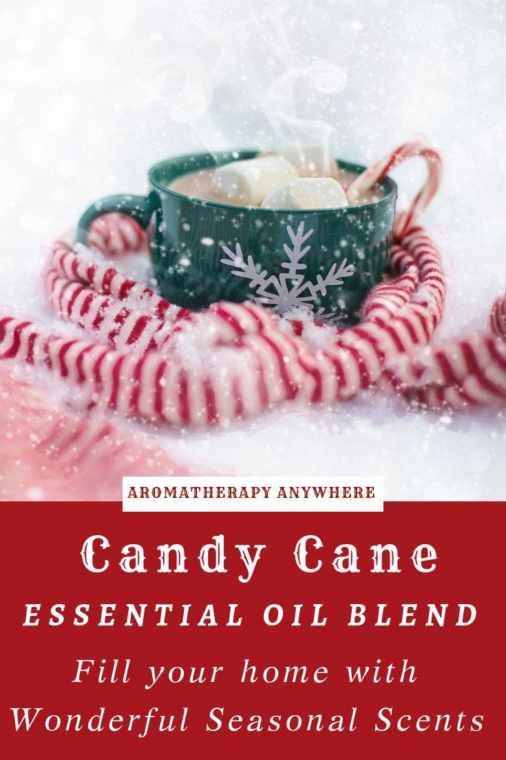 Candy Cane Essential Oil Diffuser Blend