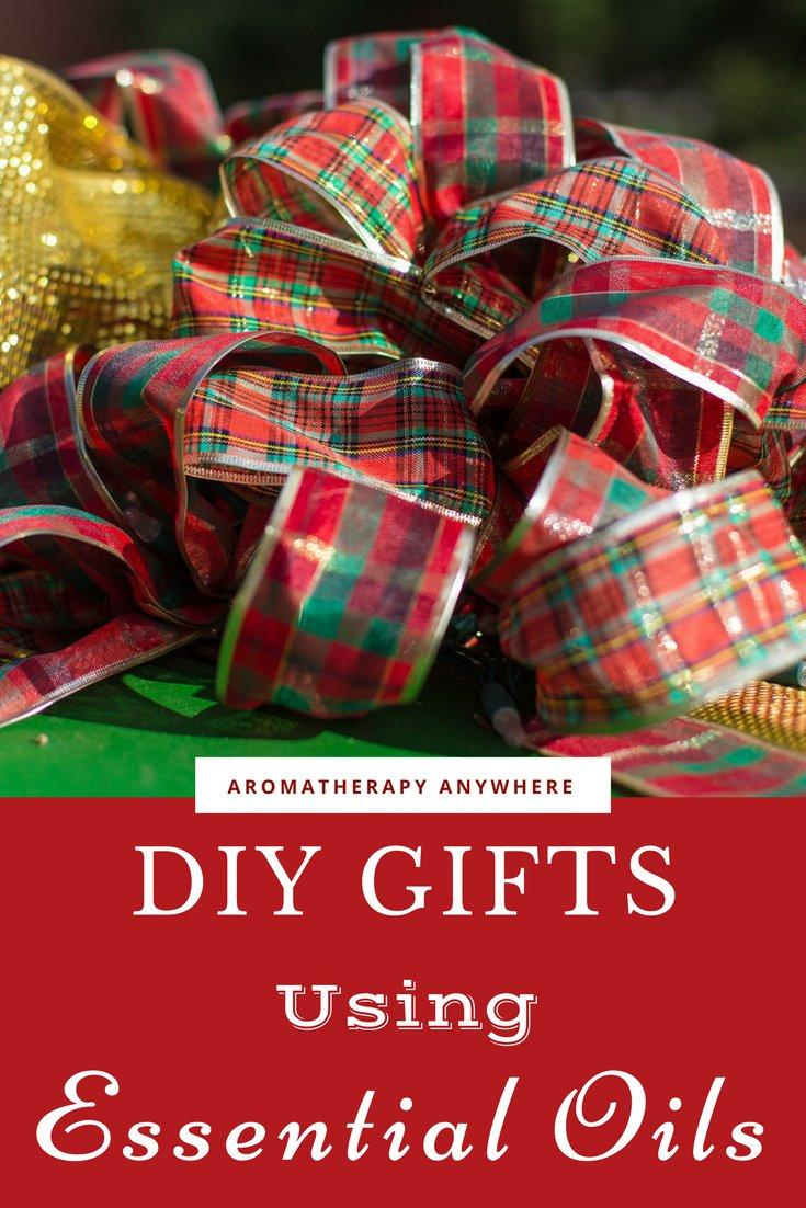 DIY Gifts and things to make with Essential Oils