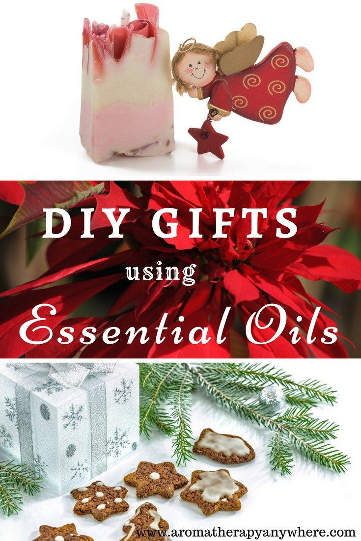 DIY Gifts using Essential Oils