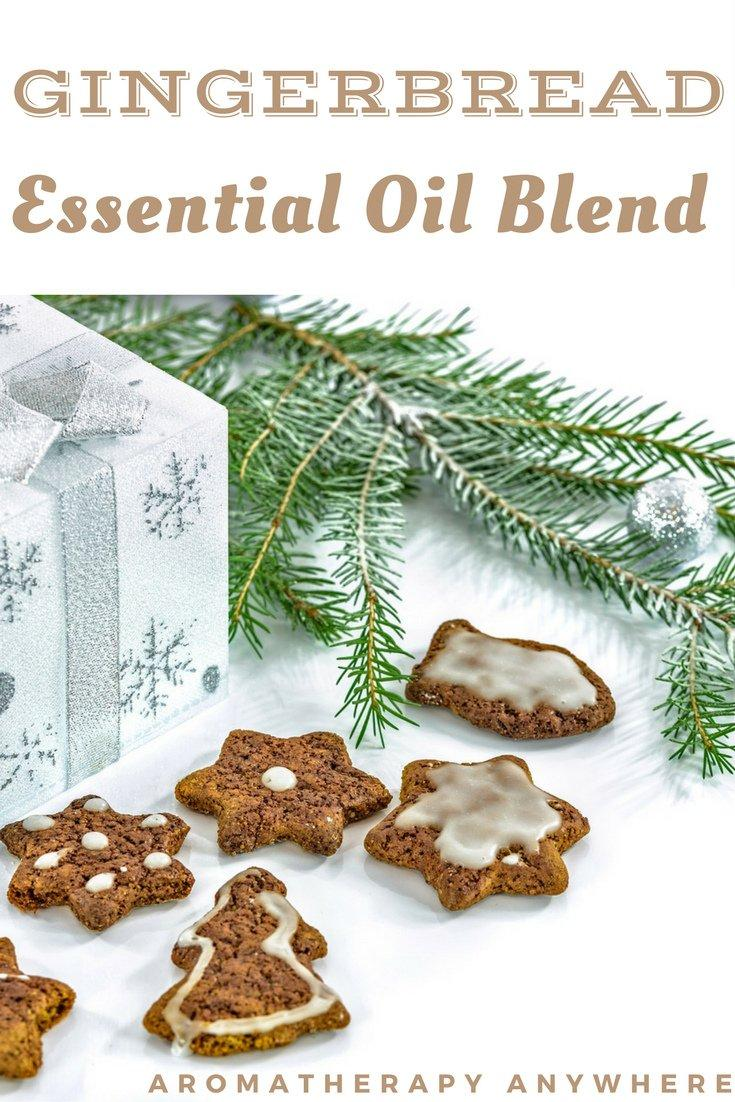 Gingerbread Essential Oil Blends