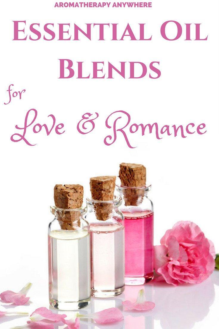 Romantic essential oil blend recipes