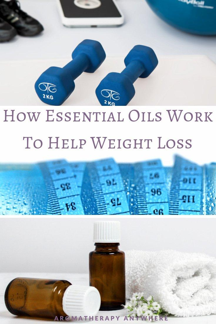 How Essential Oils Work to Help Weight Loss