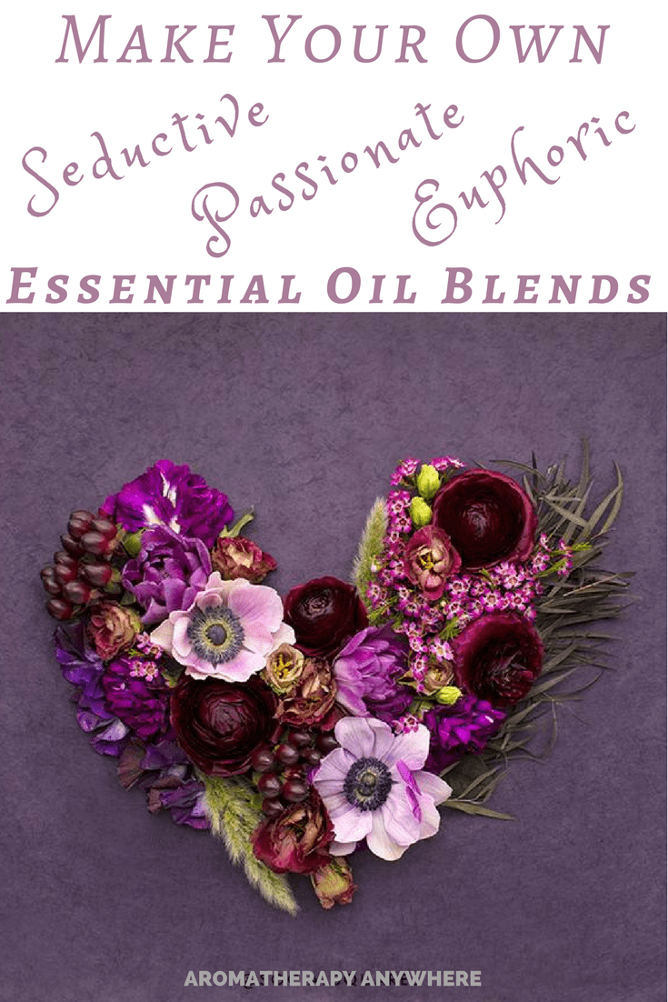 Seductive essential oils and blends