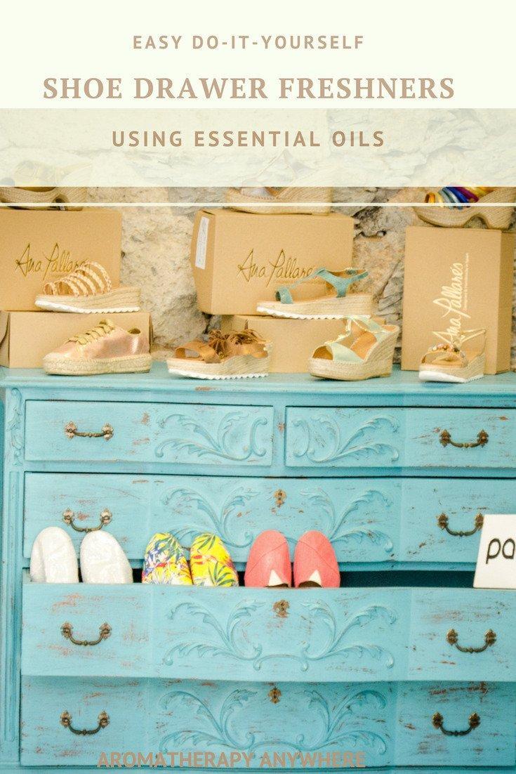 Easy DIY Drawer Fresheners using Essential Oils