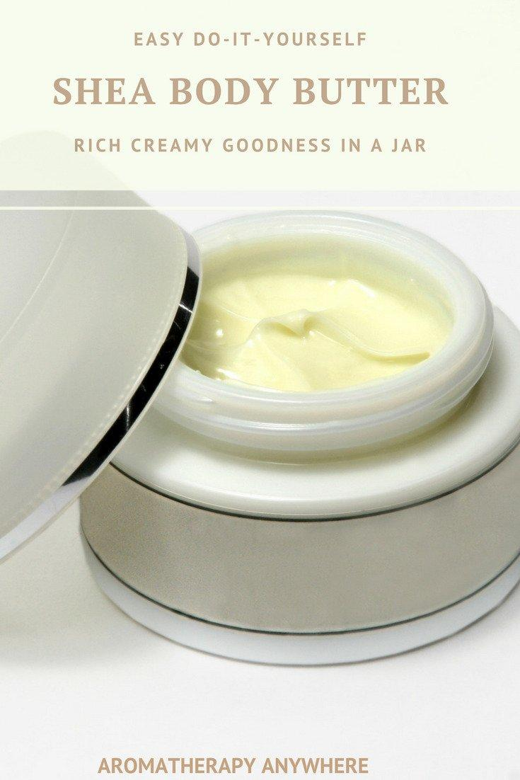 Easy DIY Shea Body Butter using only 3 ingredients - Rich Creamy Goodness in a Jar