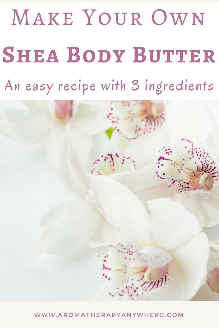 How to make your own body cream with Shea Body Butter