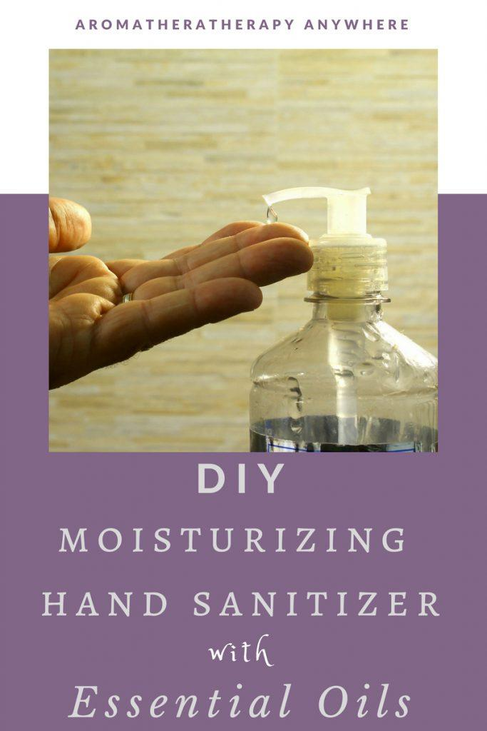 Make Your Own Moisturizing Hand Sanitizer with Essential Oils