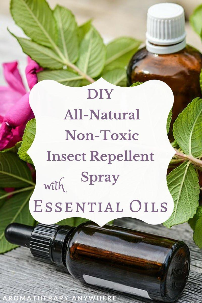 DIY All Natural, Non Toxic Insect Repe
