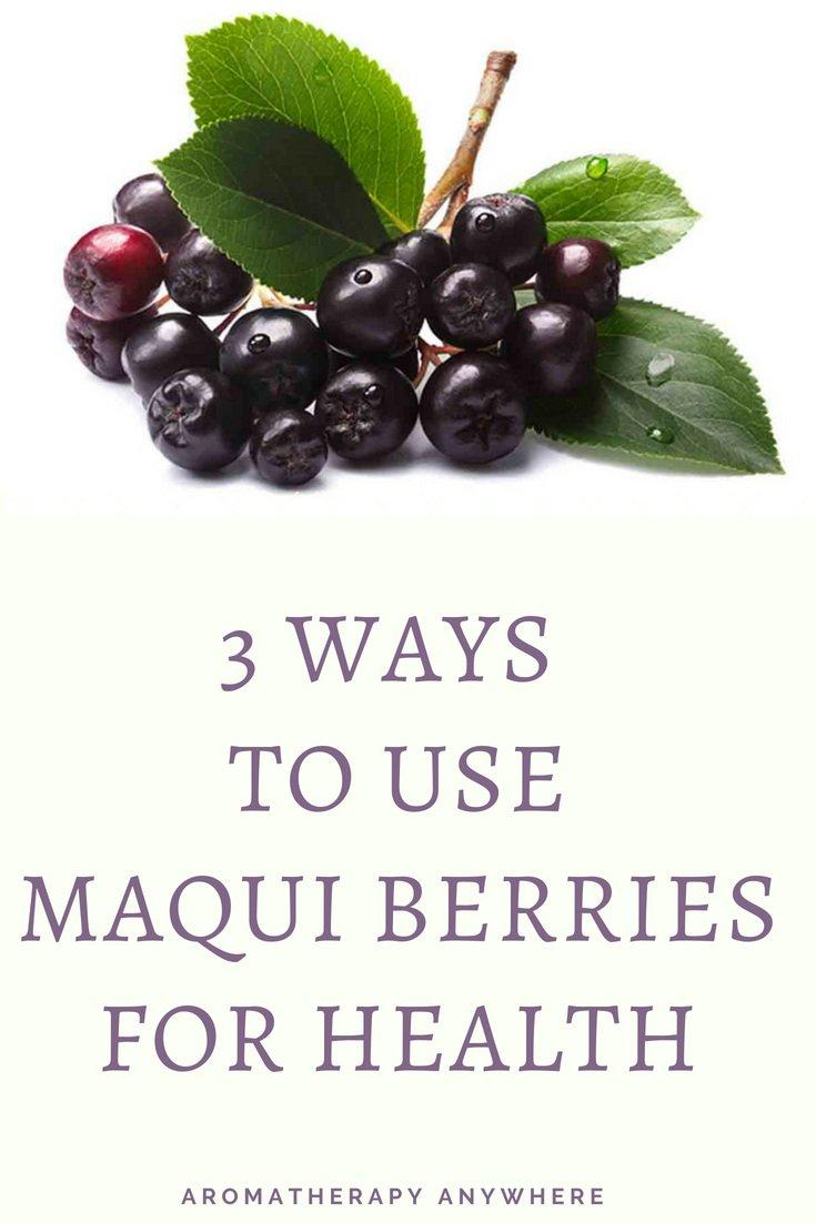 3 Ways to use Maqui Berries for Health