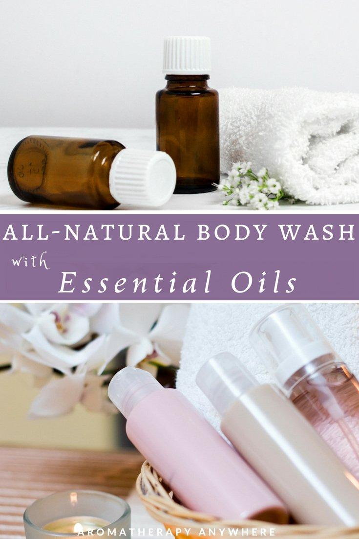 Make Your Own All-Natural, Non-Toxic Body Wash with Essential Oils