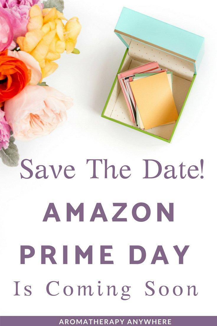 Save the Date for Big Savings on Amazon Prime Day