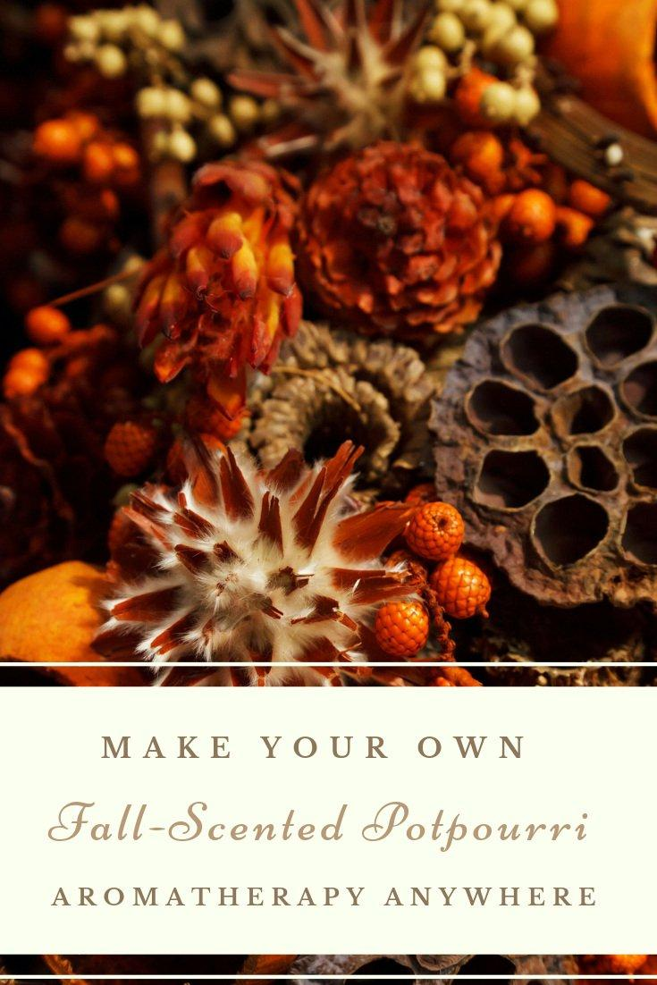 Make Your Own Fall Scented Potpourri