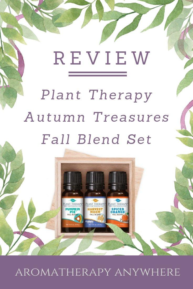 Plant Therapy Autumn Treasures Fall Blend Set Review