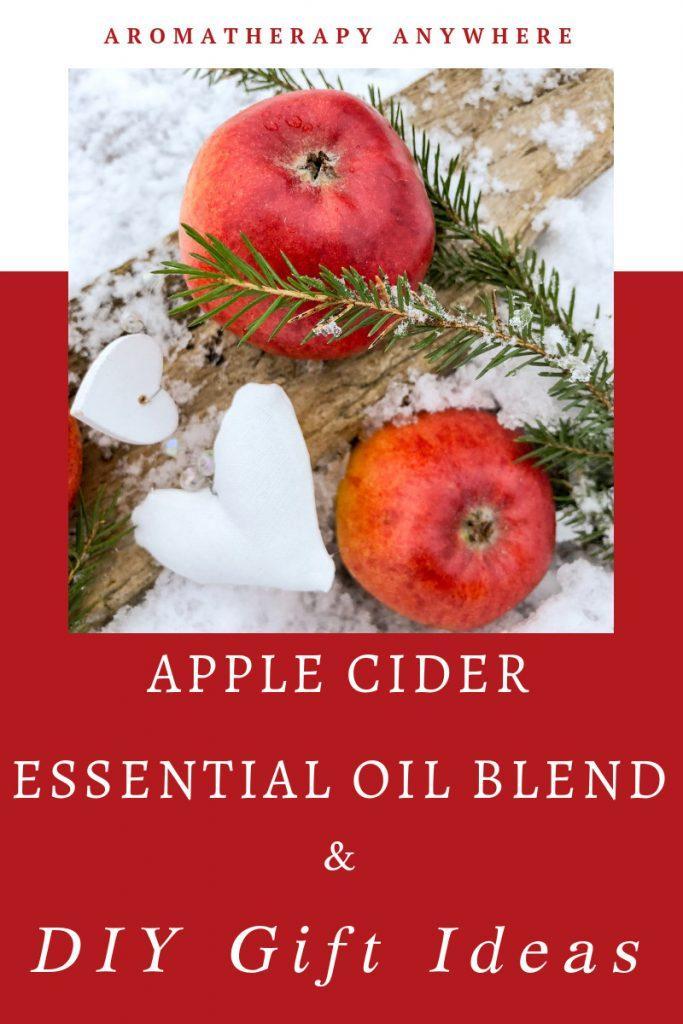 Apple Cider Blend & DIY Gift Ideas