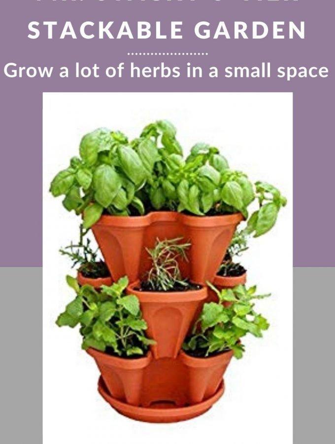 3- tier herb garden