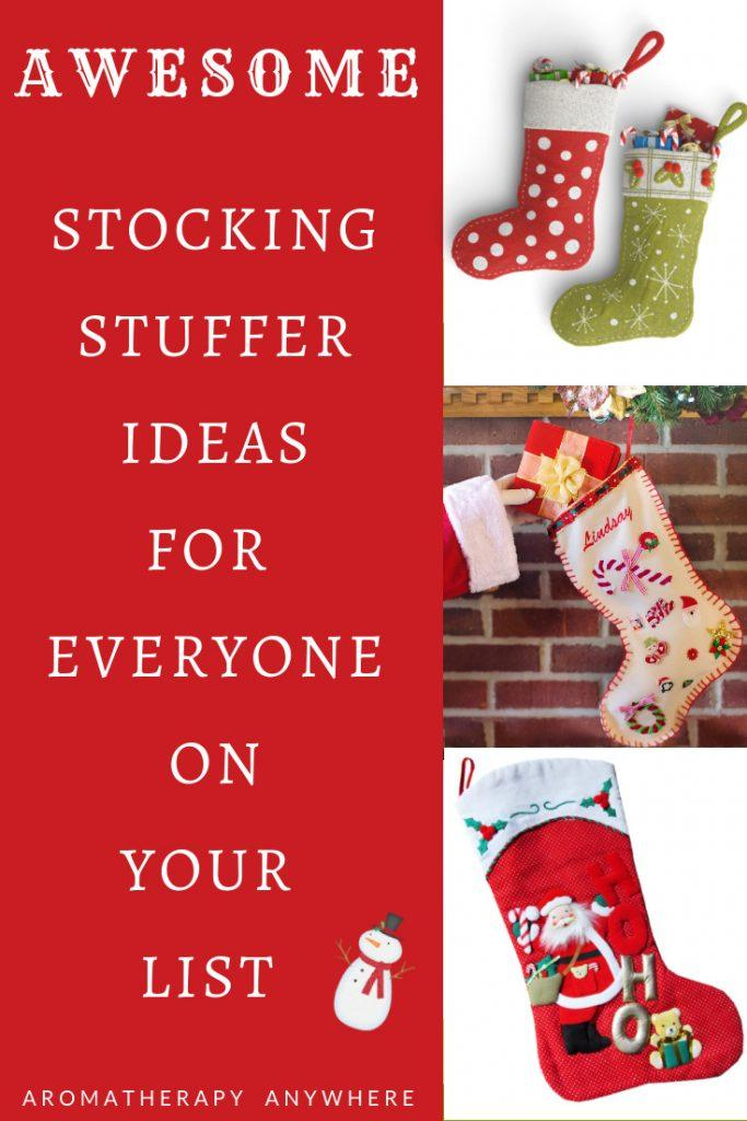 Awesome Stocking Stuffer Ideas for Everyone on Your List