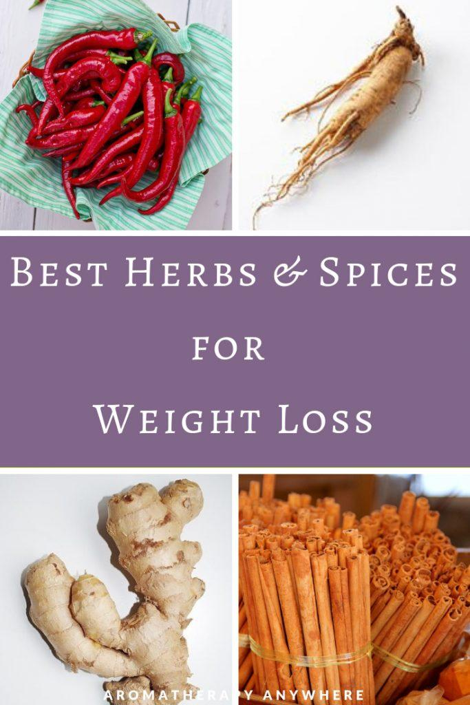 Best Spices & Herbs for Weight Loss