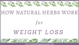 How natural herbs help with weight loss