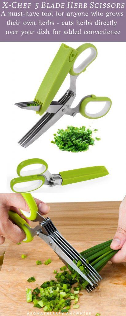X-Chef 5 Blade Herb Scissors