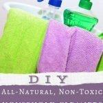 DIY All-Natural, Non-Toxic Household Cleaners using Essential Oils