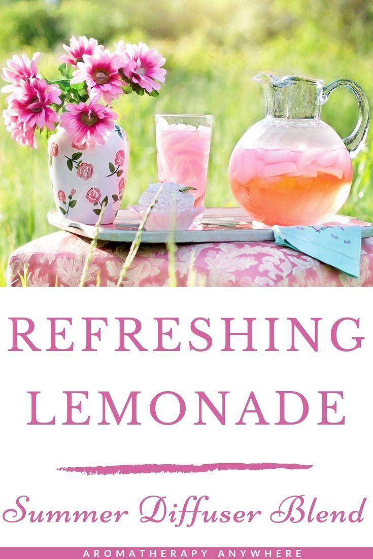 Refreshing lemonade summer diffuser blend