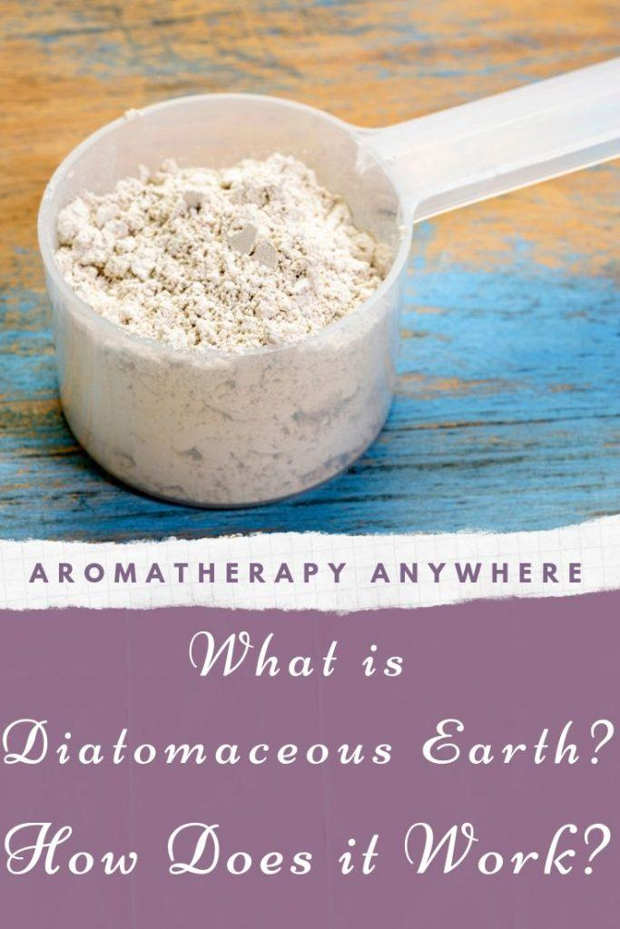 Diatomaceous Earth in a container