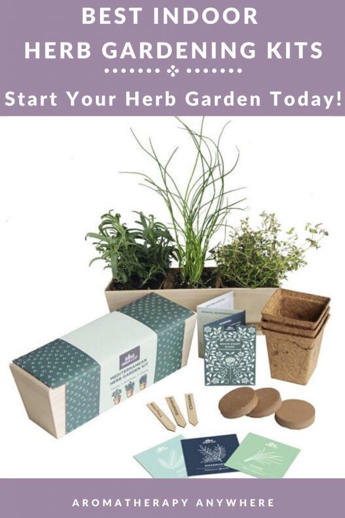 indoor herb gardening kit