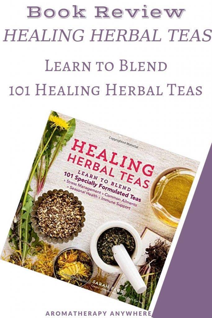 healing herbal teas book cover