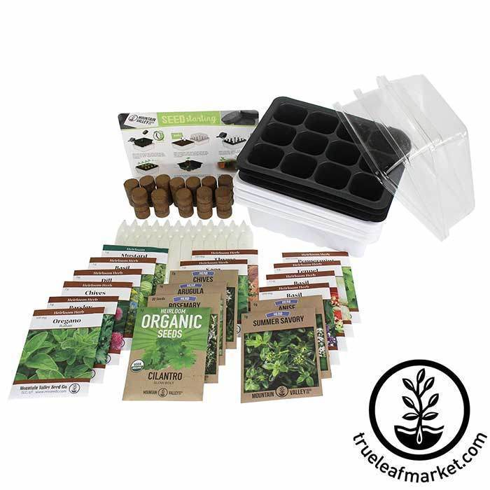 herb starter kit with seed packets