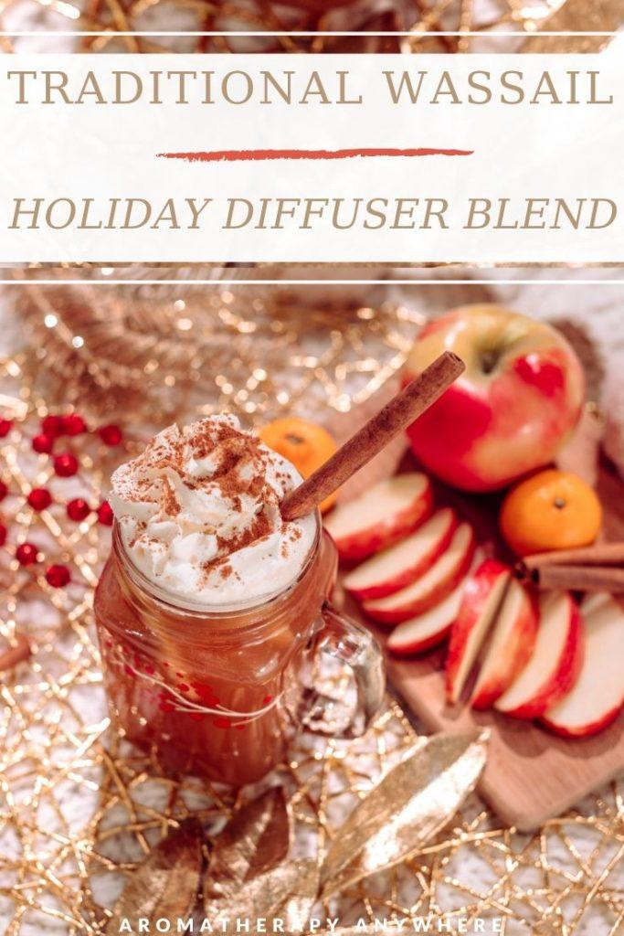 mulled christmas cider with sliced apples