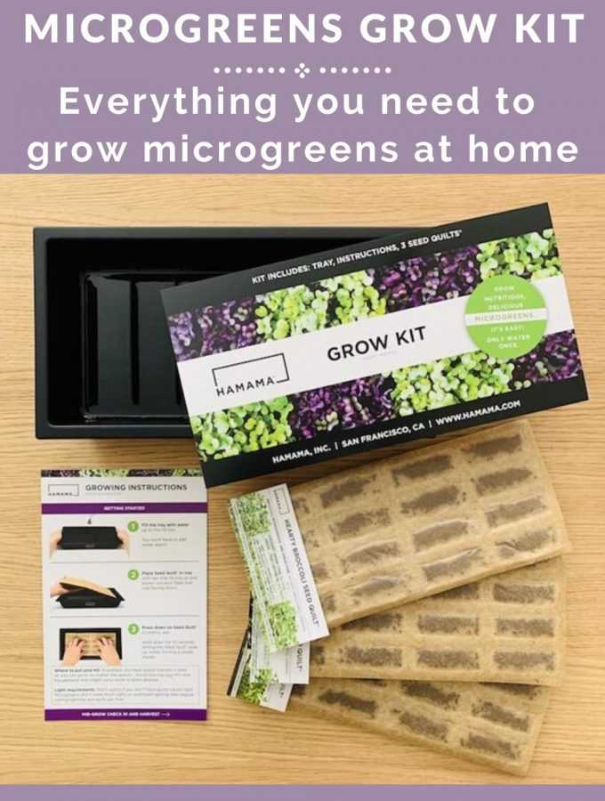 microgreens grow kit