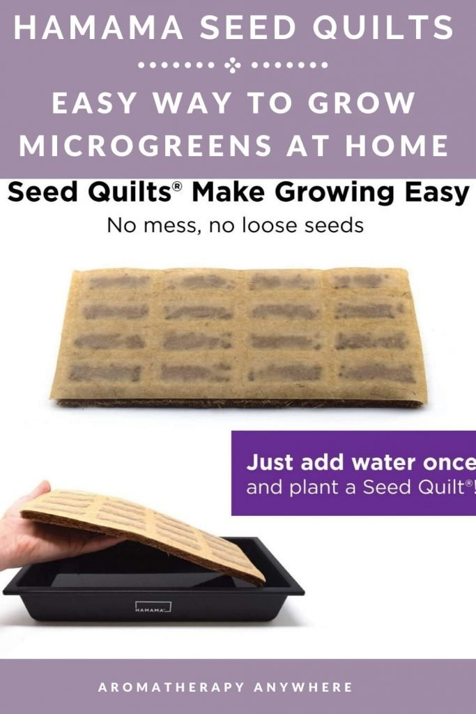 seed quilts for growing microgreens